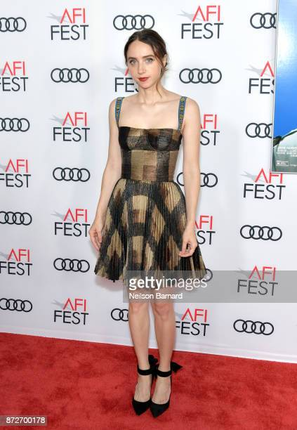Zoe Kazan attends the screening of 'Call Me By Your Name' at AFI FEST 2017 Presented By Audi at TCL Chinese Theatre on November 10 2017 in Hollywood...
