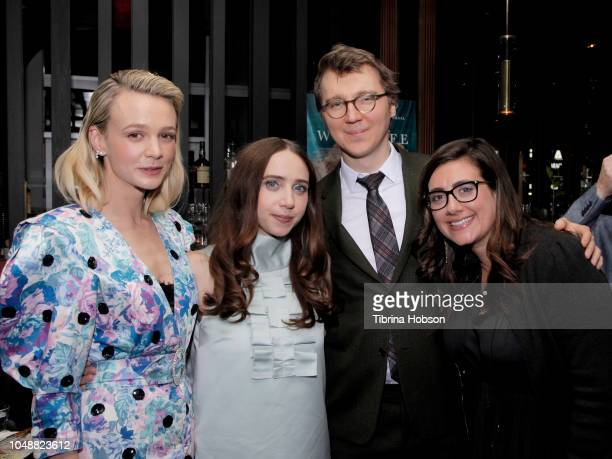 Zoe Kazan Paul Dano Carey Mulligan and Alex Saks attend the Los Angeles premiere for IFC Films 'Wildlife' after party at ArcLight Hollywood on...