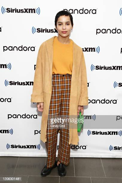 Zoe Kravitz and the cast of Hulu's High Fidelity sit down for an interview at the SiriusXM Studios on February 14 2020 in New York City