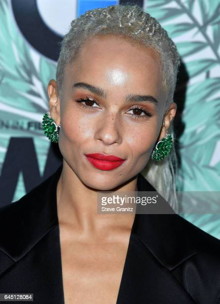 Zoe Kravitz arrives at the 10th Annual Women In Film PreOscar Cocktail Party at Nightingale Plaza on February 24 2017 in Los Angeles California