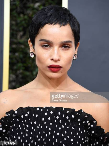 Zoe Kravitz arrives at the 77th Annual Golden Globe Awards attends the 77th Annual Golden Globe Awards at The Beverly Hilton Hotel on January 05 2020...