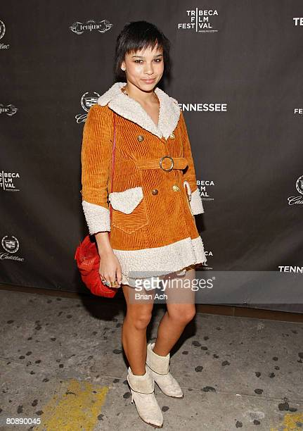 Zoe Kravitz at the 7th Annual Tribeca Film Festival 'Tennessee' after party at Tenjune on April 26 in New York City