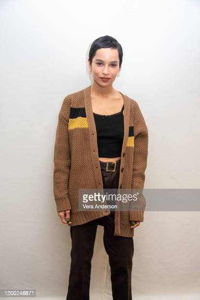 """Zoe Kravitz at the """"High Fidelity"""" Press Conference at the Four Seasons Hotel on January 17, 2020 in Beverly Hills, California."""