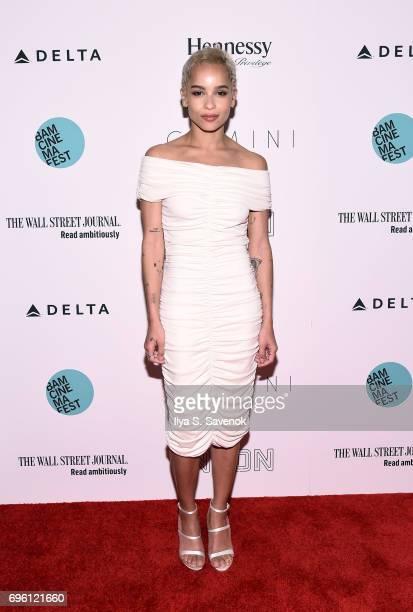 Zoe Kravitz attends BAMcinemaFest 2017 Opening Night Premiere Of Gemini at BAM Harvey Theater on June 14 2017 in New York City