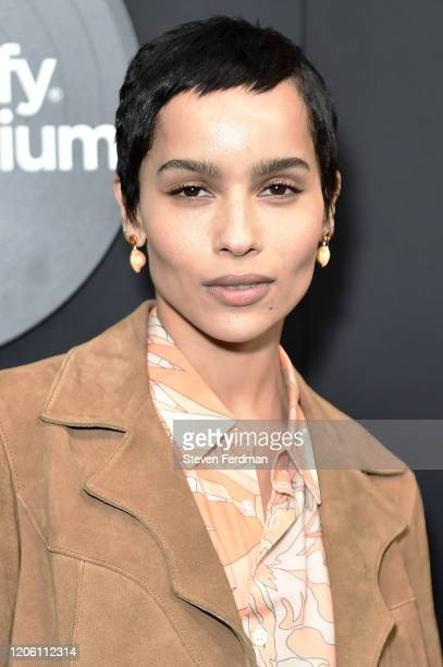 "Zoe Kravitz attends Hulu's ""High Fidelity"" New York premiere at Metrograph on February 13, 2020 in New York City."