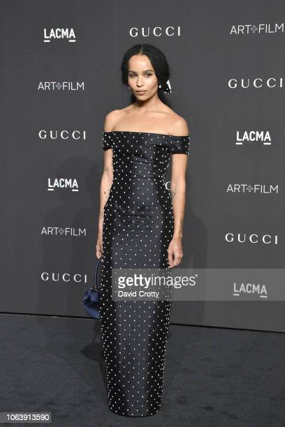 Zoe Kravitz attends LACMA Art Film Gala 2018 at Los Angeles County Museum of Art on November 3 2018 in Los Angeles CA
