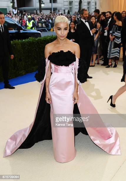 Zoe Kravitz attends 'Rei Kawakubo/Comme des Garcons Art Of The InBetween' Costume Institute Gala at Metropolitan Museum of Art on May 1 2017 in New...