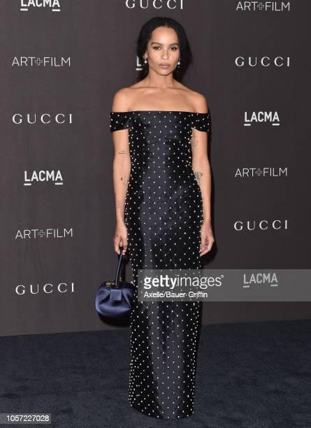 Zoe Kravitz attends the 2018 LACMA Art Film Gala at LACMA on November 03 2018 in Los Angeles California