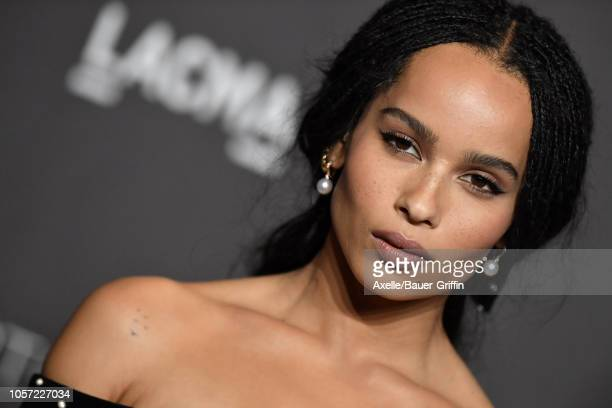 Zoe Kravitz attends the 2018 LACMA Art Film Gala at LACMA on November 03 2018 in Los Angeles California