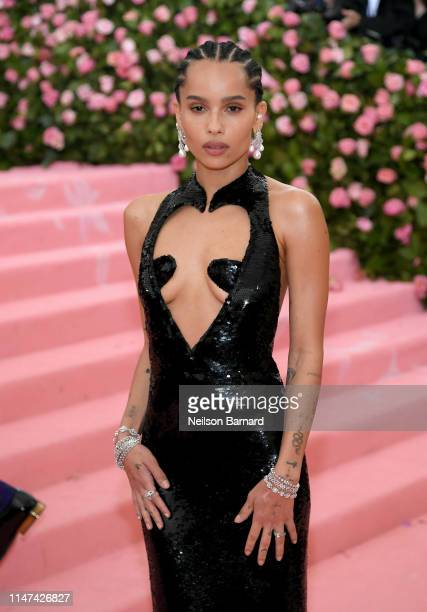 Zoe Kravitz attends The 2019 Met Gala Celebrating Camp Notes on Fashion at Metropolitan Museum of Art on May 06 2019 in New York City