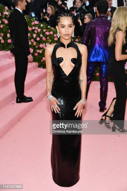 Zoe Kravitz attends The 2019 Met Gala Celebrating Camp: Notes on Fashion at Metropolitan Museum of Art on May 06, 2019 in New York City.