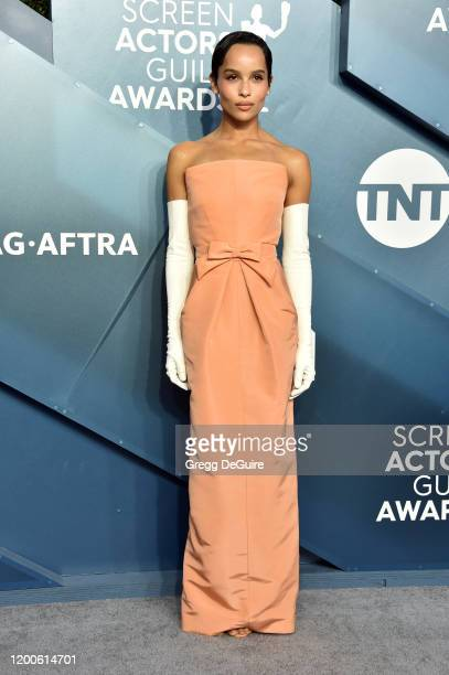 Zoe Kravitz attends the 26th Annual Screen Actors Guild Awards at The Shrine Auditorium on January 19, 2020 in Los Angeles, California. 721430