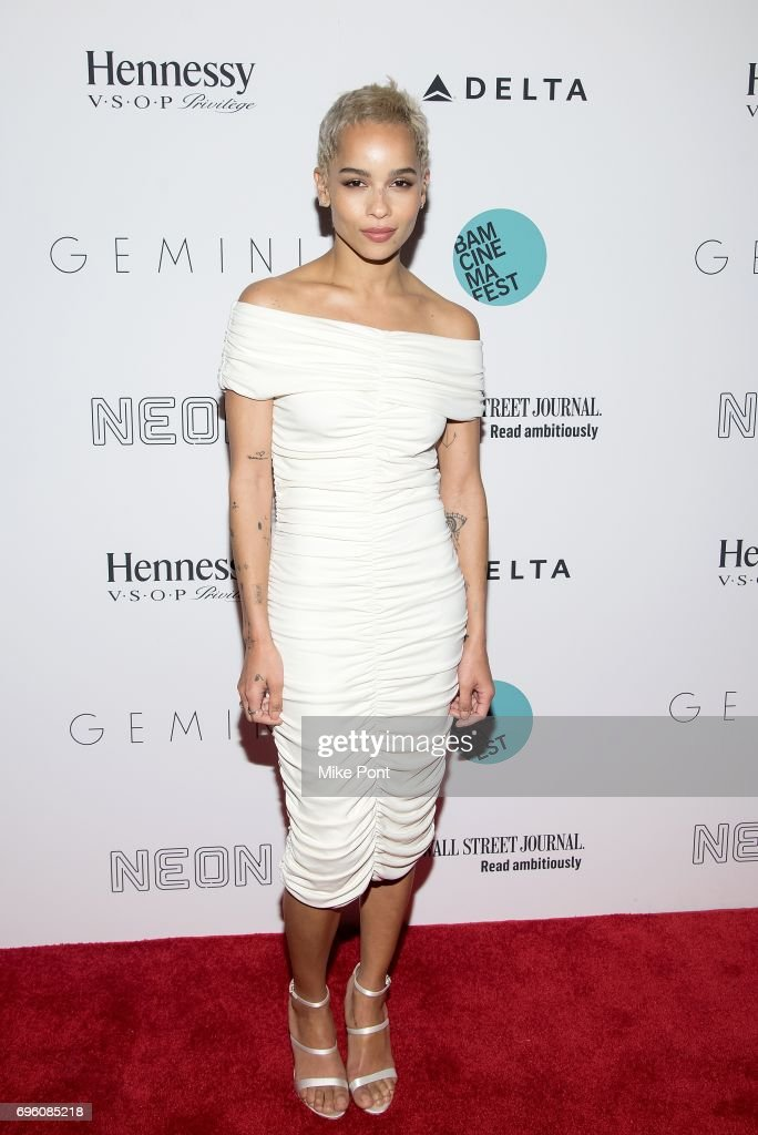 Zoe Kravitz attends the BAMcinemaFest 2017 Opening Night Premiere of 'Gemini' at BAM Harvey Theater on June 14, 2017 in New York City.