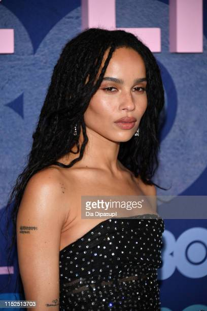 "Zoe Kravitz attends the ""Big Little Lies"" Season 2 Premiere at Jazz at Lincoln Center on May 29, 2019 in New York City."