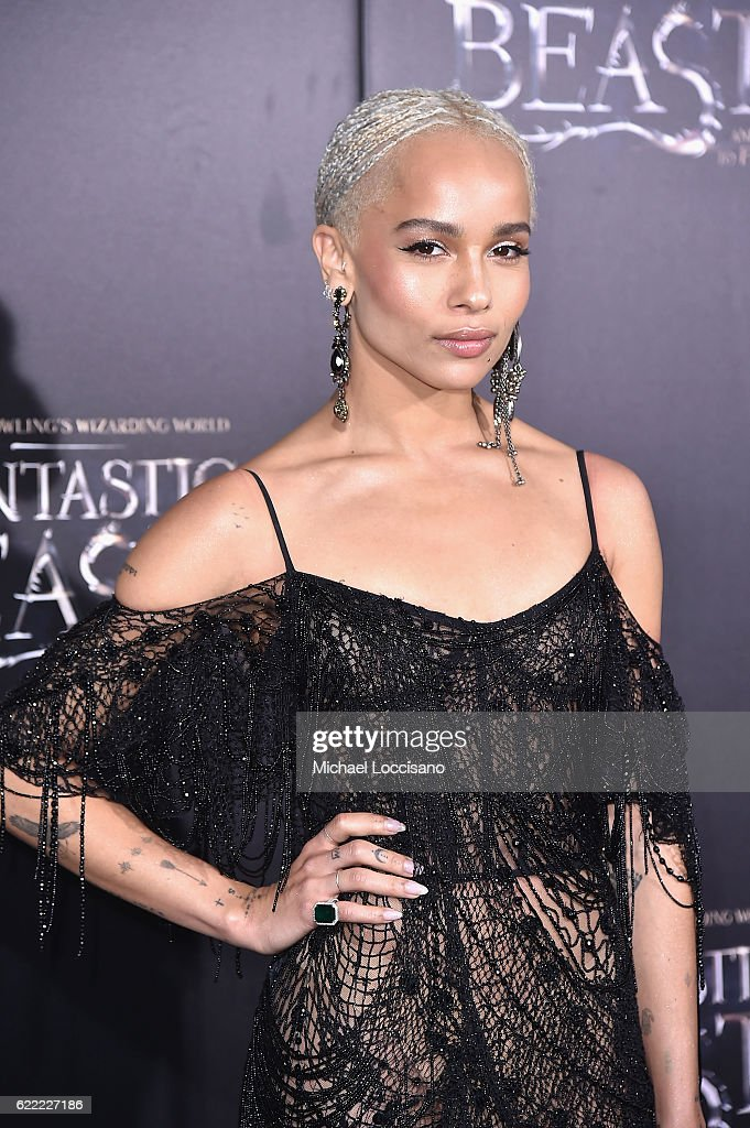 Zoe Kravitz attends the 'Fantastic Beasts And Where To Find Them' World Premiere at Alice Tully Hall, Lincoln Center on November 10, 2016 in New York City.