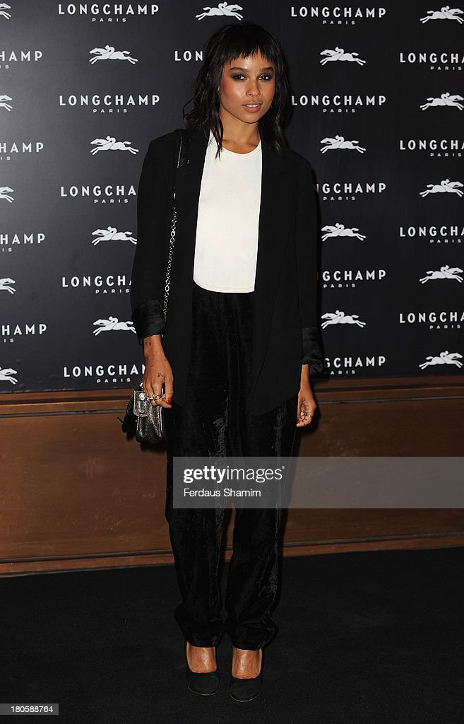 Zoe Kravitz attends the grand opening party of Longchamp Regent Street at Longchamp on September 14, 2013 in London, England.