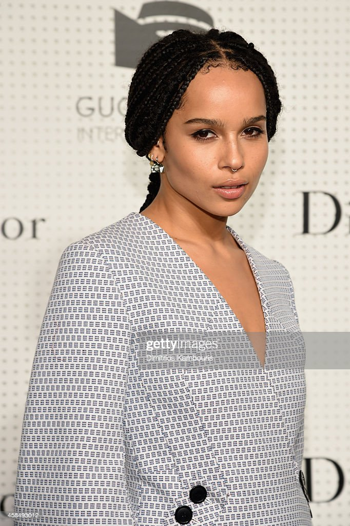 Zoe Kravitz attends the Guggenheim International Gala Pre-Party made possible by Dior on November 5, 2014 in New York City.