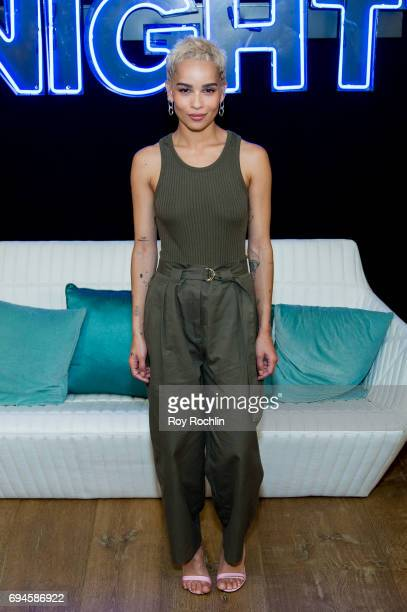 Zoe Kravitz attends the 'Rough Night' photo call at Crosby Street Hotel on June 10 2017 in New York City