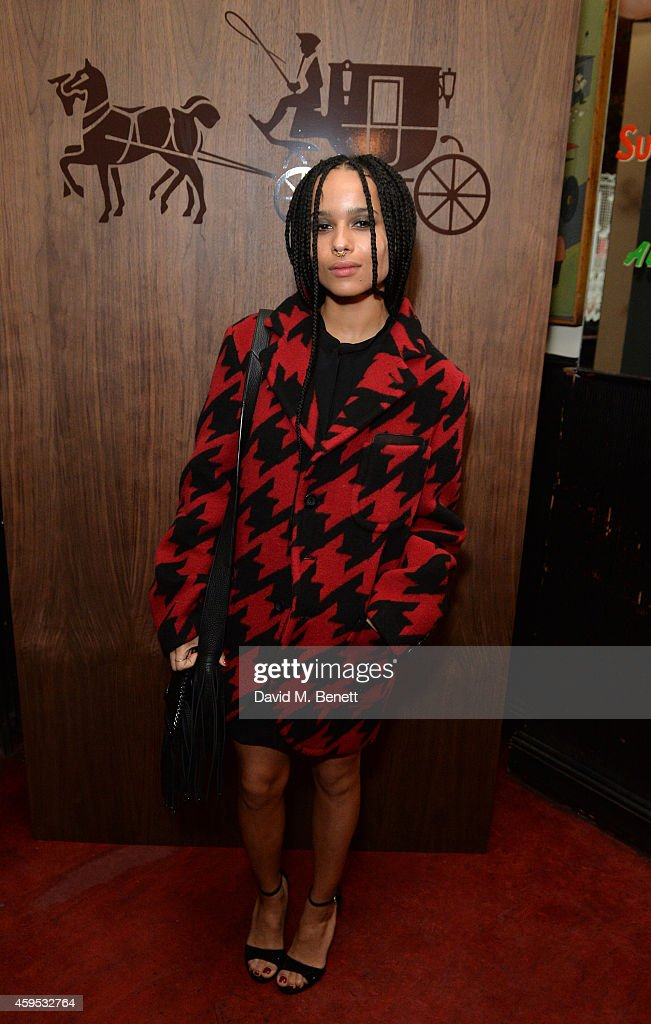 Zoe Kravitz attends the Thanksgiving dinner with Coach hosted by Zoe Kravitz and Mary Charteris on November 24, 2014 in London, England.