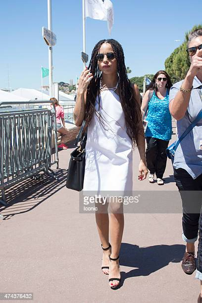 Zoe Kravitz is seen during The 68th Annual Cannes Film Festival on May 22 2015 in Cannes France