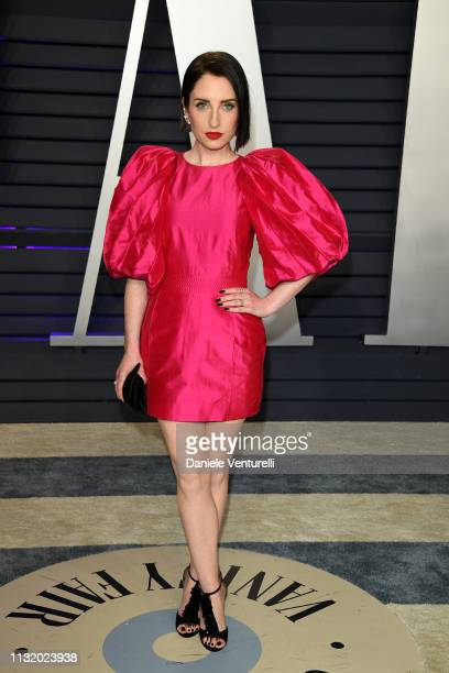 Zoe ListerJones attends 2019 Vanity Fair Oscar Party Hosted By Radhika Jones Arrivals at Wallis Annenberg Center for the Performing Arts on February...