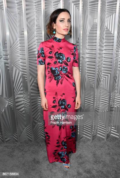 Zoe ListerJones attends ELLE's 24th Annual Women in Hollywood Celebration presented by L'Oreal Paris Real Is Rare Real Is A Diamond and CALVIN KLEIN...