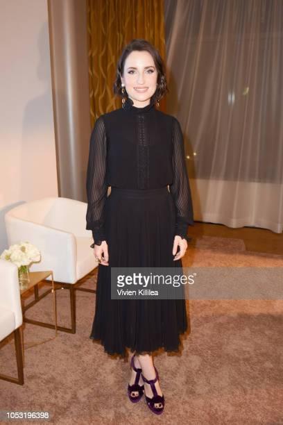 Zoe ListerJones attends Ralph Lauren Fragrances x Women In Film Sisterhood Of Leaders Event on October 24 2018 in Beverly Hills California