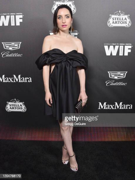 Zoe ListerJones attends the 13th Annual Women In Film Female Oscar Nominees Party at Sunset Room Hollywood on February 07 2020 in Hollywood California