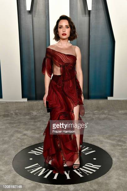 Zoe ListerJones attends the 2020 Vanity Fair Oscar Party hosted by Radhika Jones at Wallis Annenberg Center for the Performing Arts on February 09...