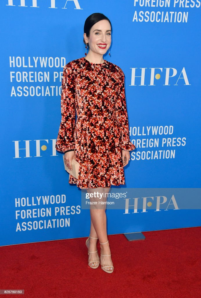 Zoe Lister-Jones attends the Hollywood Foreign Press Association's Grants Banquet at the Beverly Wilshire Four Seasons Hotel on August 2, 2017 in Beverly Hills, California.