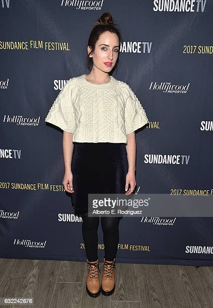 Zoe ListerJones attends The Hollywood Reporter and Sundance TV 2017 Sundance Film Festival Official Kickoff Party Park City 2017 at Sundance TV HQ on...