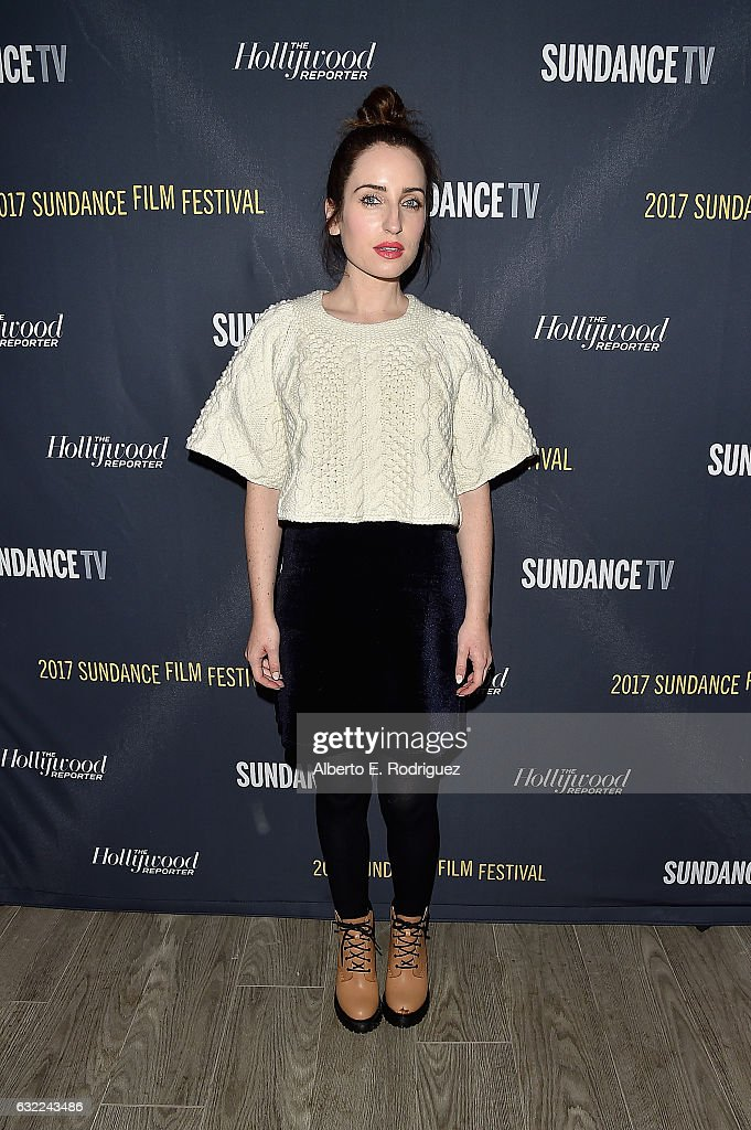 Zoe Lister-Jones attends The Hollywood Reporter and Sundance
