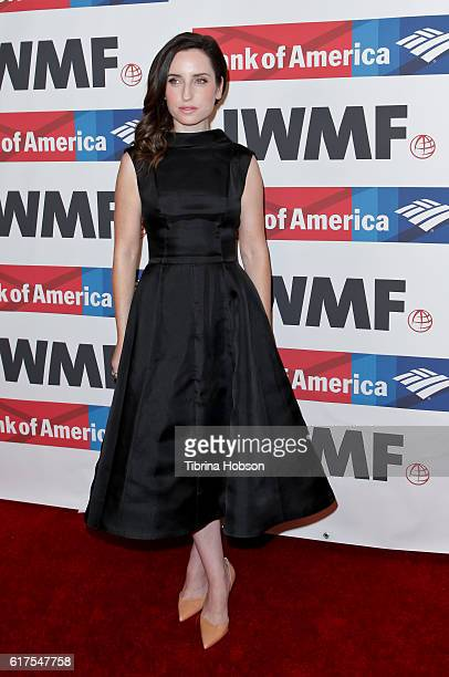 Zoe ListerJones attends the International Women's Media Foundation 27th annual Courage In Journalism Awards at the Beverly Wilshire Four Seasons...