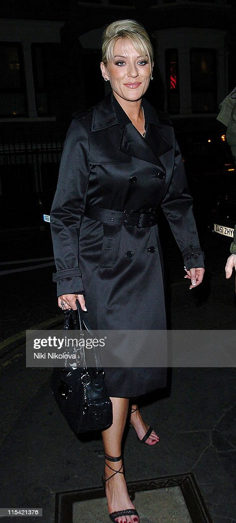 Celebrity Sightings at The Ivy in London - February 7, 2006