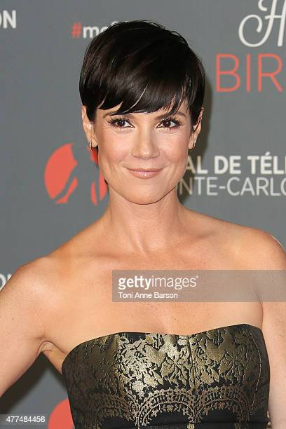Zoe McLellan attends the 55th Anniversary Party at the Monte Carlo Beach on June 16 2015 in MonteCarlo Monaco
