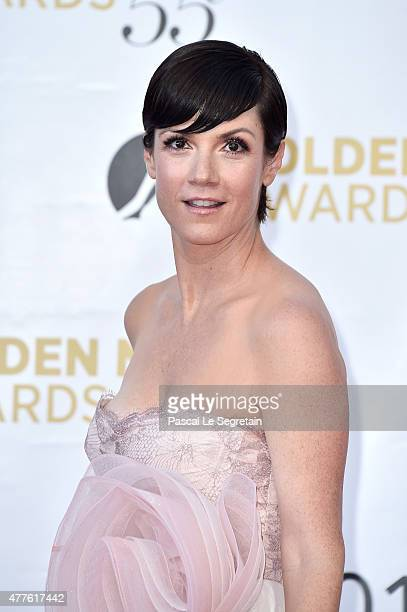 Zoe McLellan attends the closing ceremony of the 55th MonteCarlo Television Festival on June 18 in Monaco