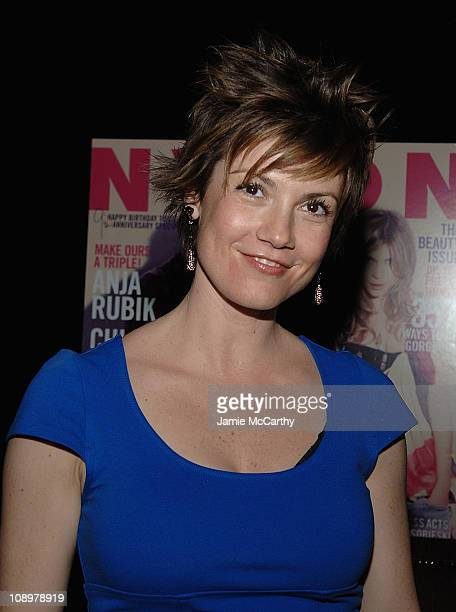 Zoe McLellan attends the NYLON 9th Anniversary Party at 1OAK in New York on April 22008