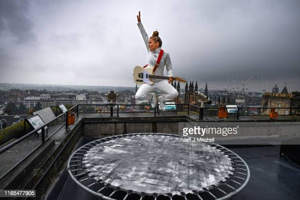 Zoe Ní Riordáin holds a photo call at Camera Obscura to promote her Edinburgh Festival Fringe show Everything I Do on August 01 2019 in Edinburgh...