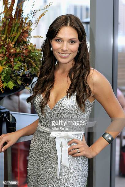 Zoe Naylor attends the launch of the Astral Champagne Bar in Star City Casino on April 2 2008 in Sydney Australia