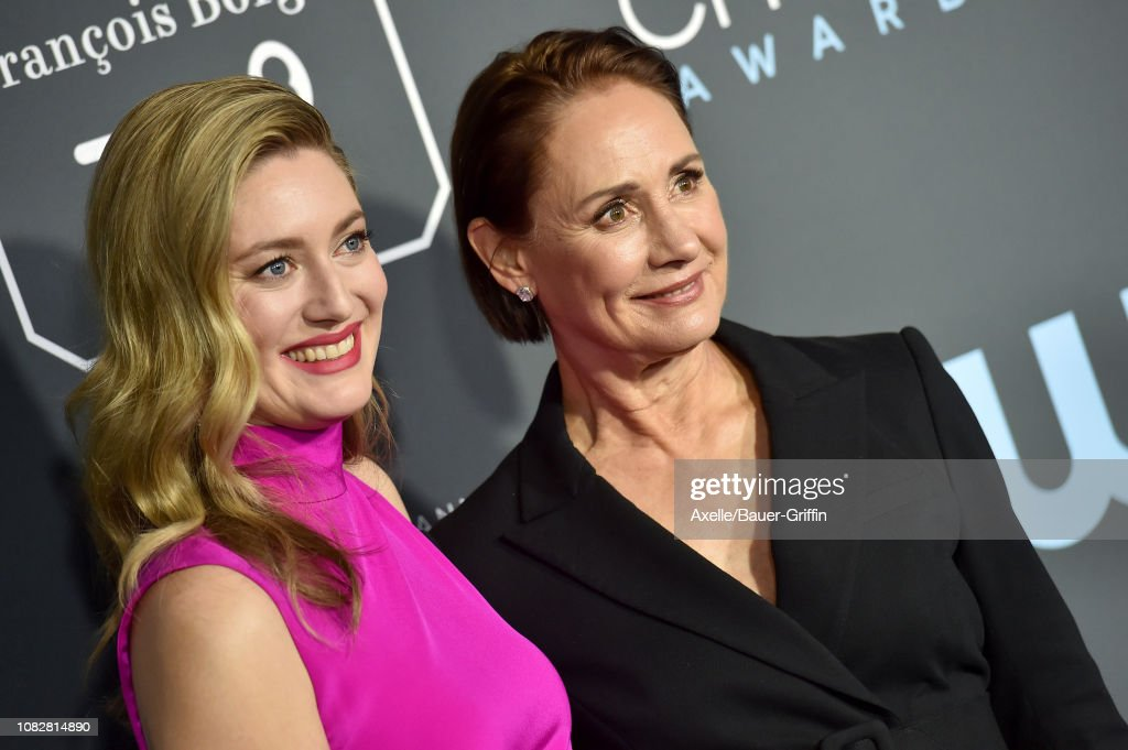 Zoe Perry And Laurie Metcalf Attend The 24th Annual Critics