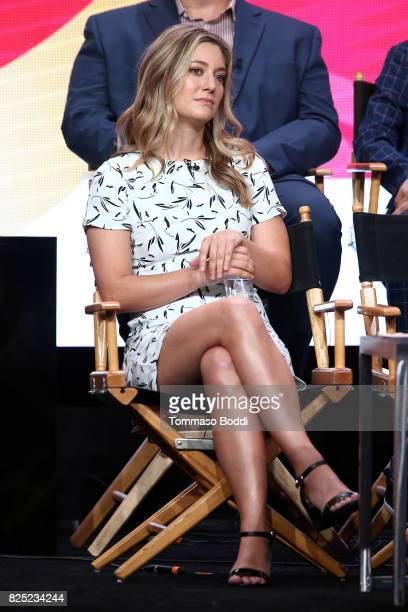 Zoe Perry attends the 2017 Summer TCA Tour CBS Panels at Various Locations on August 1 2017 in Los Angeles California