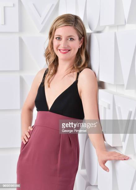 Zoe Perry poses at the CTV Upfronts portrait studio held at the Sony Centre For Performing Arts on June 7 2018 in Toronto Canada