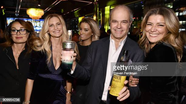 Zoe Potenza TobiRae Hundley Mark Hauser and Nejla Nourai attend Blackwell Rum at PHD NYC Hosted by Chris Blackwell Richard Kirshenbaum at PHD...