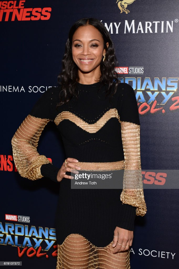 """The Cinema Society Hosts A Screening Of Marvel Studios' """"Guardians Of The Galaxy Vol. 2"""""""