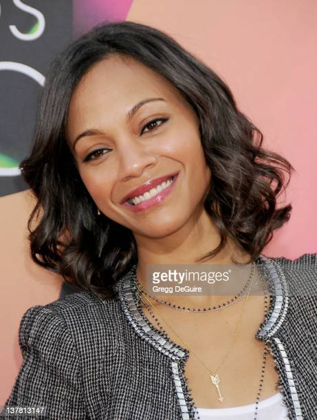 Zoe Saldana attends Nickelodeon's 23rd Annual Kids' Choice Awards held at Pauley Pavilion at UCLA on March 27, 2010 in Los Angeles, California.
