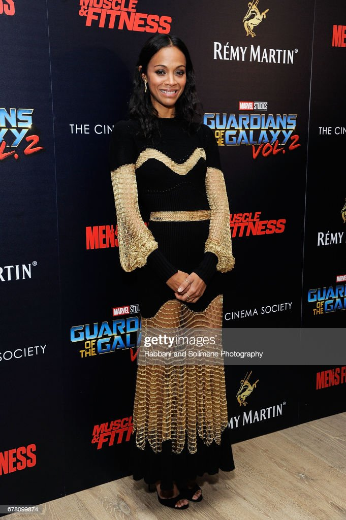 """The Cinema Society Hosts A Screening Of Marvel Studios' """"Guardians Of The Galaxy Vol. 2""""- Arrivals"""