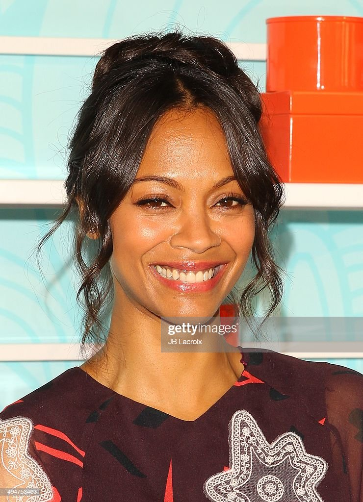 Zoe Saldana attends the Step Up 11th Annual Inspiration Awards at The Beverly Hilton Hotel on May 30, 2014 in Beverly Hills, California.
