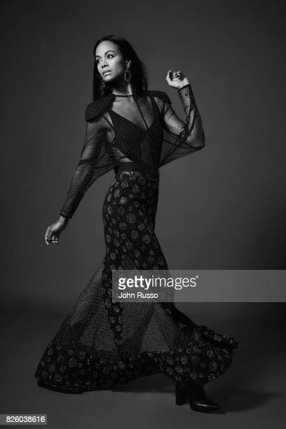 Zoe Saldana is photographed for #Legend on February 20, 2017 in Los Angeles, California.