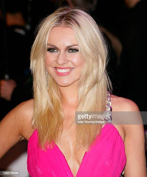 Zoe Salmon attends the 'Due Date' Premiere at The Empire Cinema Leicester Square on November 3 2010 in London England
