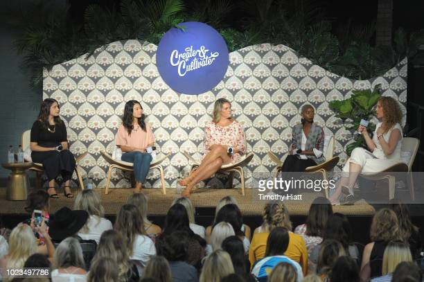 Zoe Scharf Robin Li Reesa Lake Blake Von D and Maxie McCoy attend for Create Cultivate conference at the House of Vans with partners include...